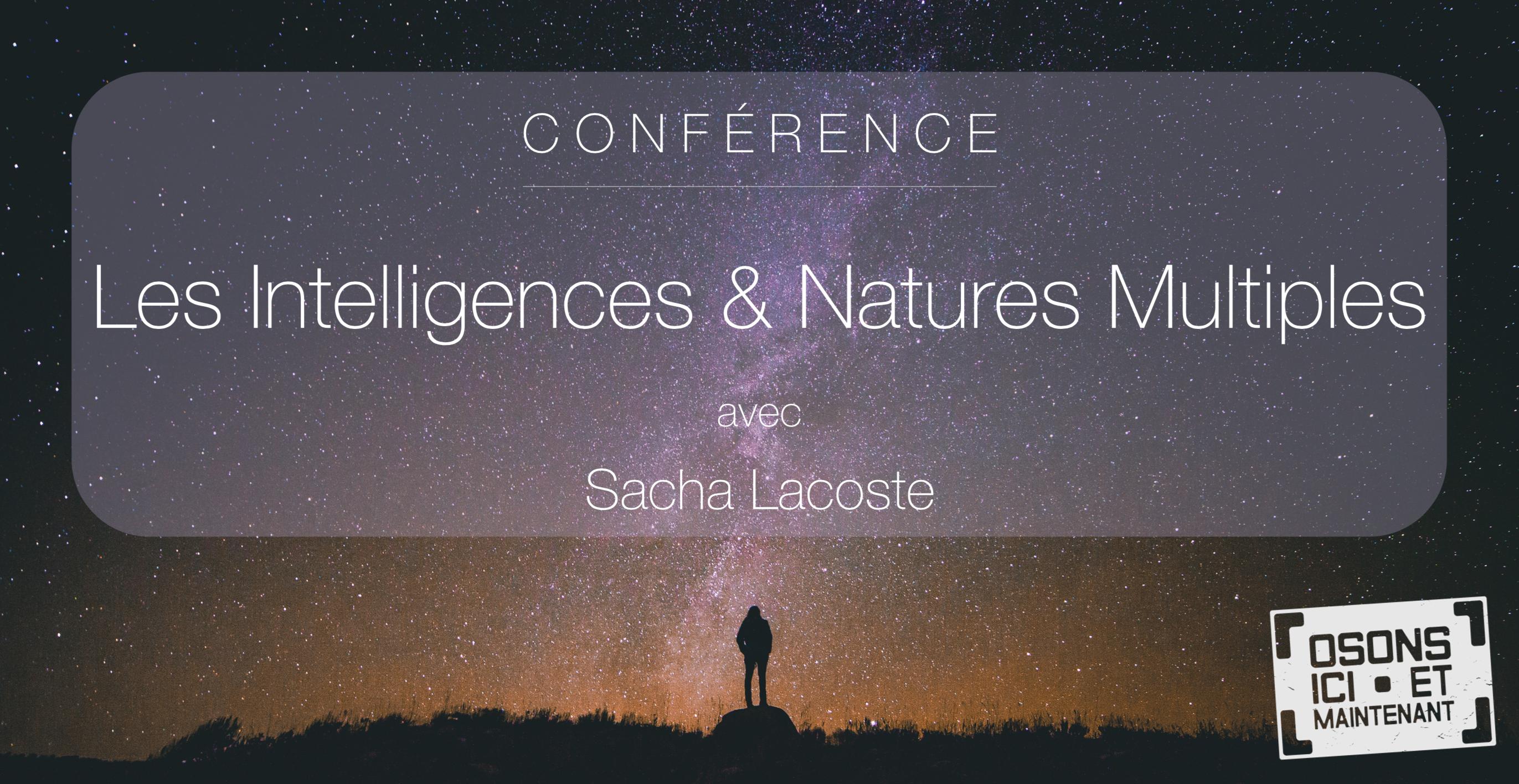 Conférence Intelligences & Natures Multiples à Lyon – 14 Nov.